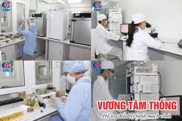 Vương Tâm Thống được sản xuất bởi đơn vị uy tín, công nghệ bào chế hiện đại